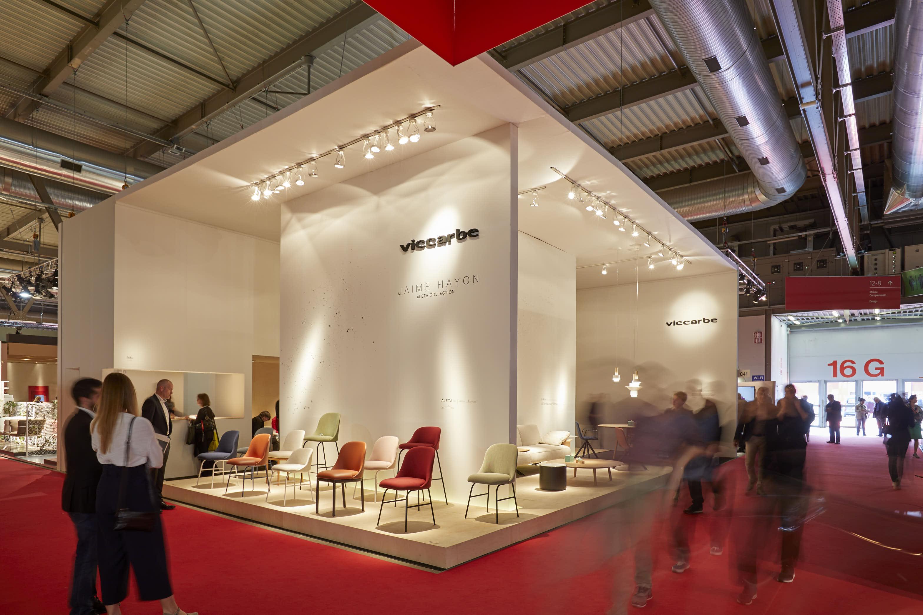 Viccarbe en el Salone Internazionale del Mobile de Milano 2017