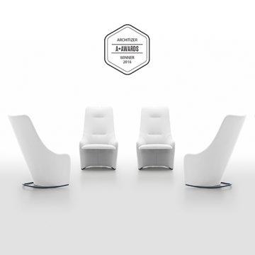 Nagi armchair, winner at Architizer A+ Awards 2016