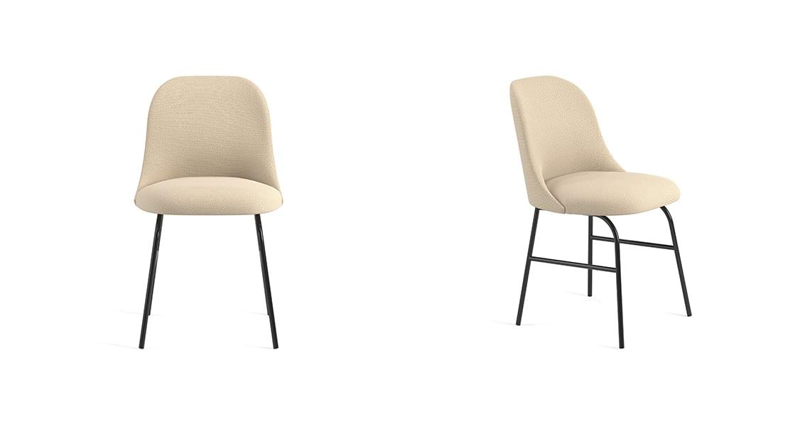 Aleta Chair Metal Base