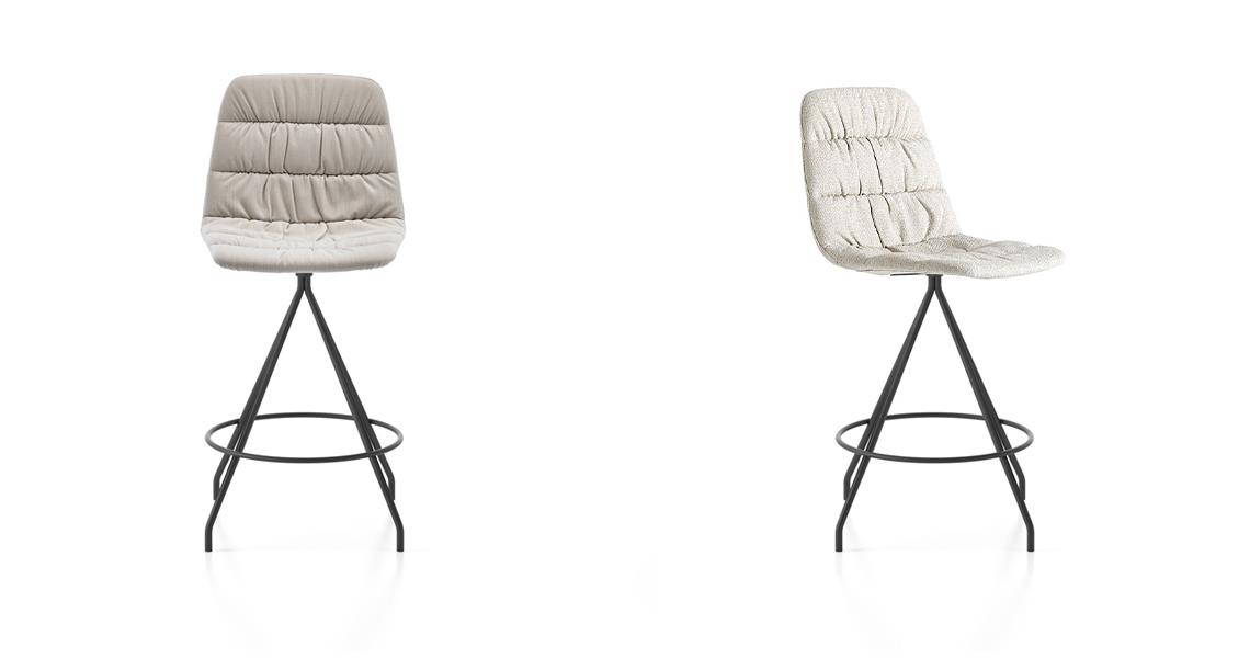 Maarten Counter Stool Soft Upholstery