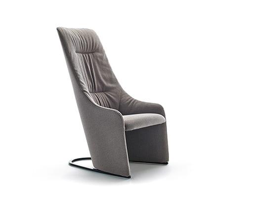 Nagi High Fixed Armchair w. Soft Upholstery
