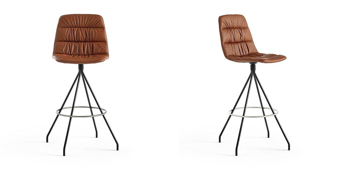 Maarten Bar Stool Soft Upholstery
