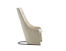 Nagi High Fixed Armchair