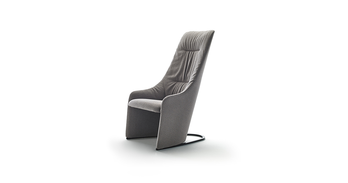 Nagi Höhen Festen Sessel, Weichem Sitzkissen