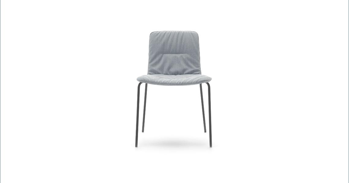 Klip 4 Legs Base Soft Upholstery