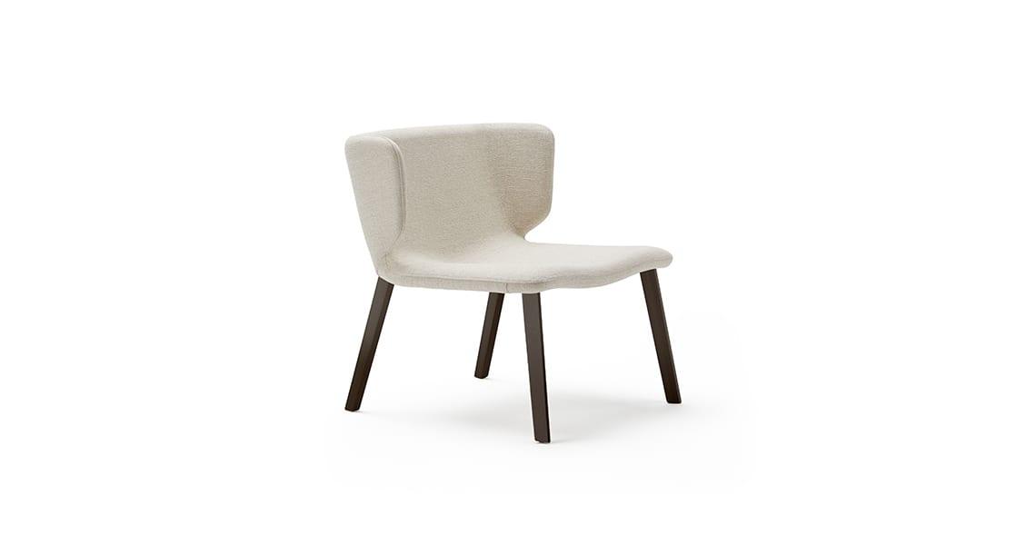 Wrapp Wooden Base Armchair