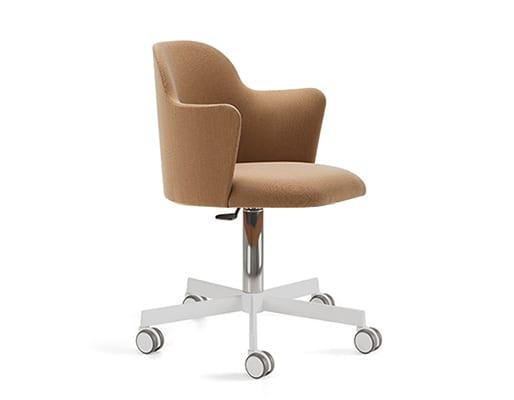 Aleta Caster Base Chair & Armrest