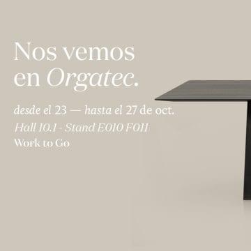 Orgatec 2018 – Nuestra participación en 'Work to Go'