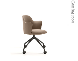 Aleta Chair Base Pyramid Casters Base & Armsrests