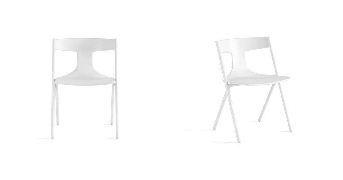 Quadra Chair Full White