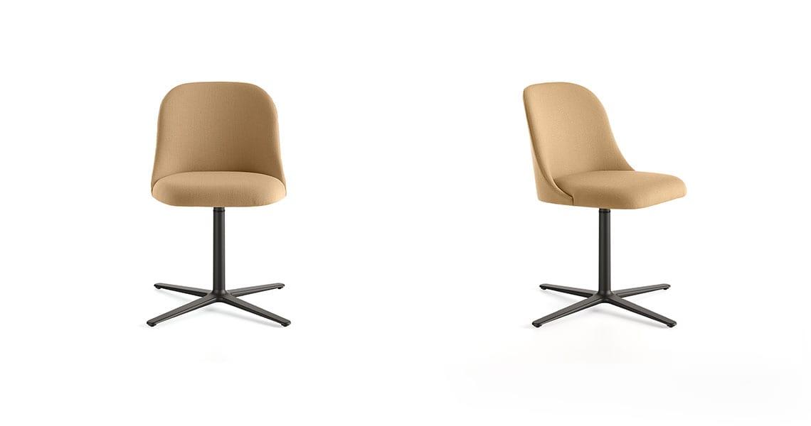 Aleta Chair Flat Swivel Base