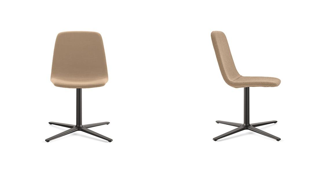 Maarten Chair Flat Swivel Base