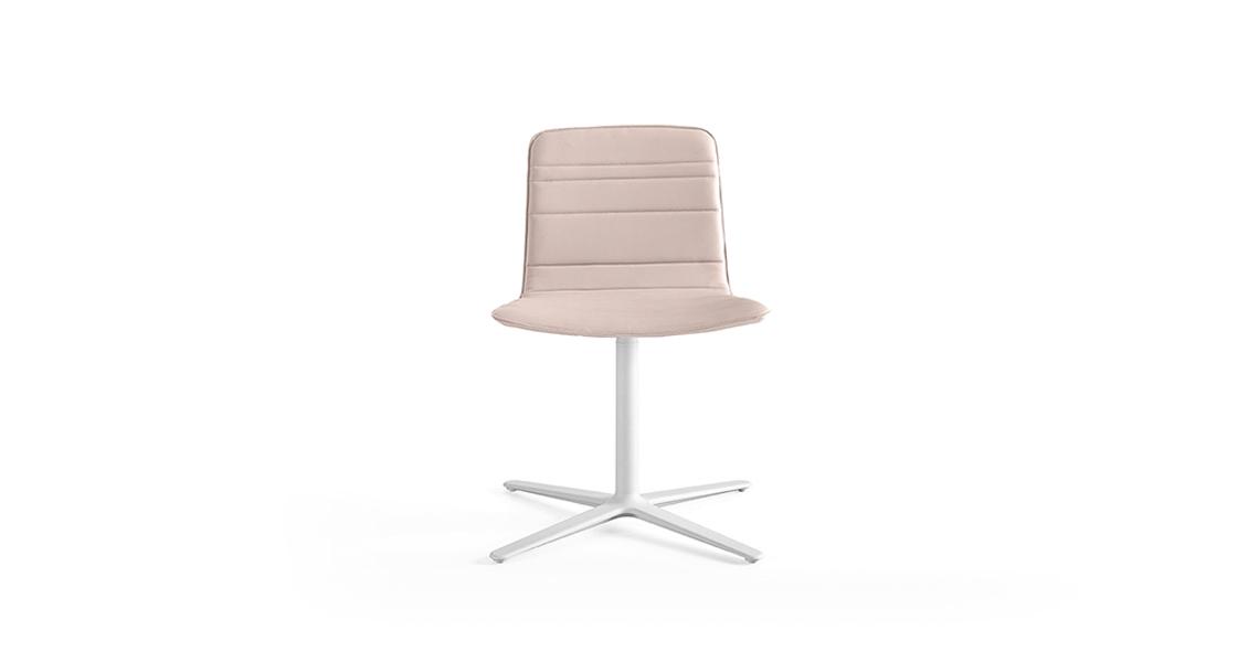 Klip Flat Swivel Base Lines Upholstery