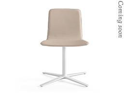 Klip Flat Swivel Base Smooth Upholstery