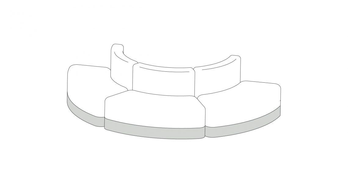 Season Sofa – Composition 6