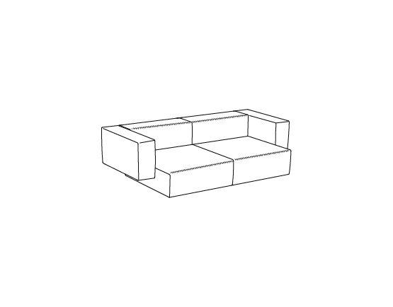 Step Sofa – Konfiguration 1