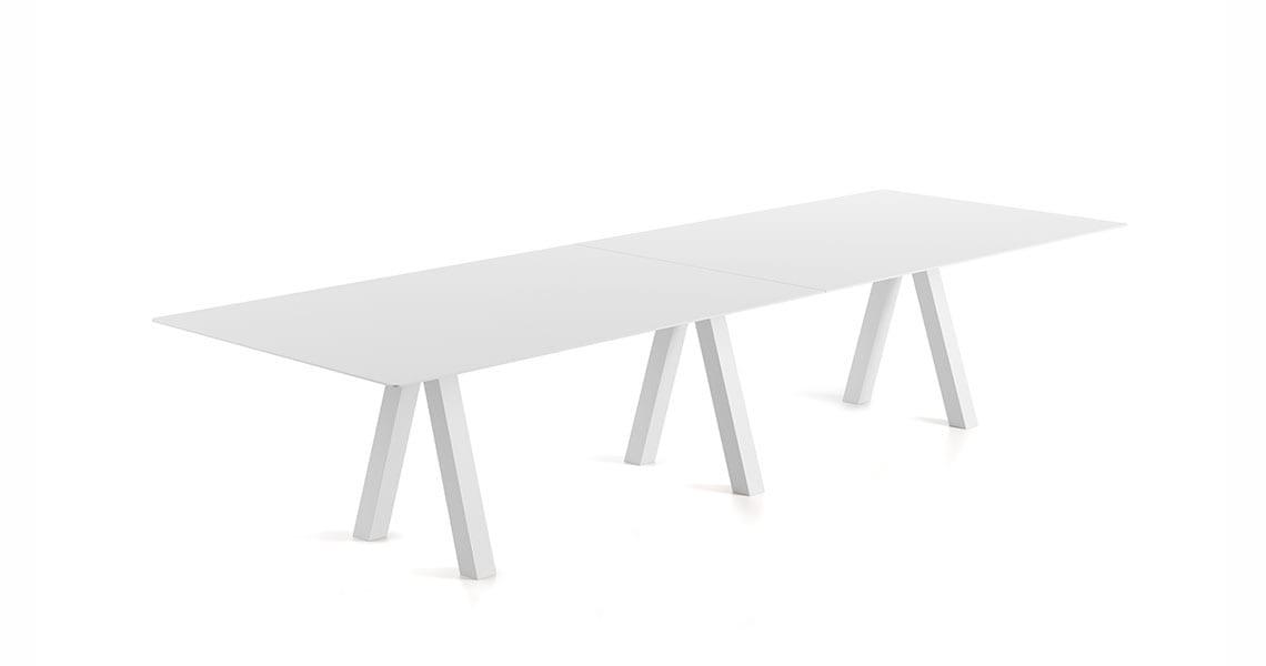 Trestle Double Table – 120cm width