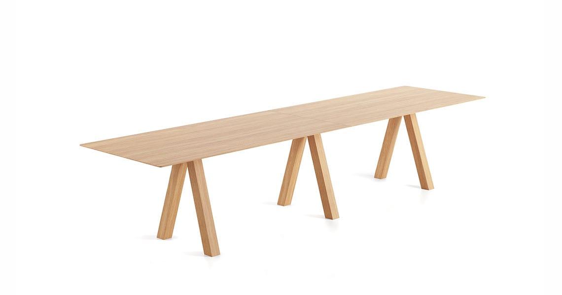 Trestle Double Table – 90cm width