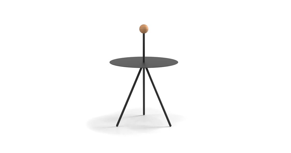 Trino, Model Sphere in Solid Oak