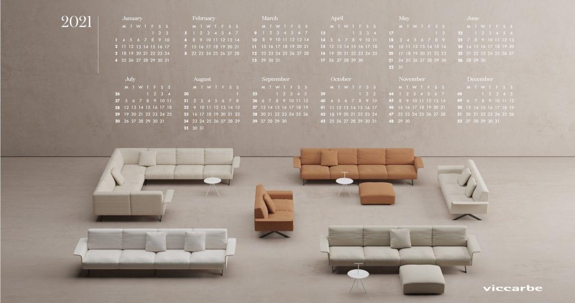 viccarbe annual calendar 2021