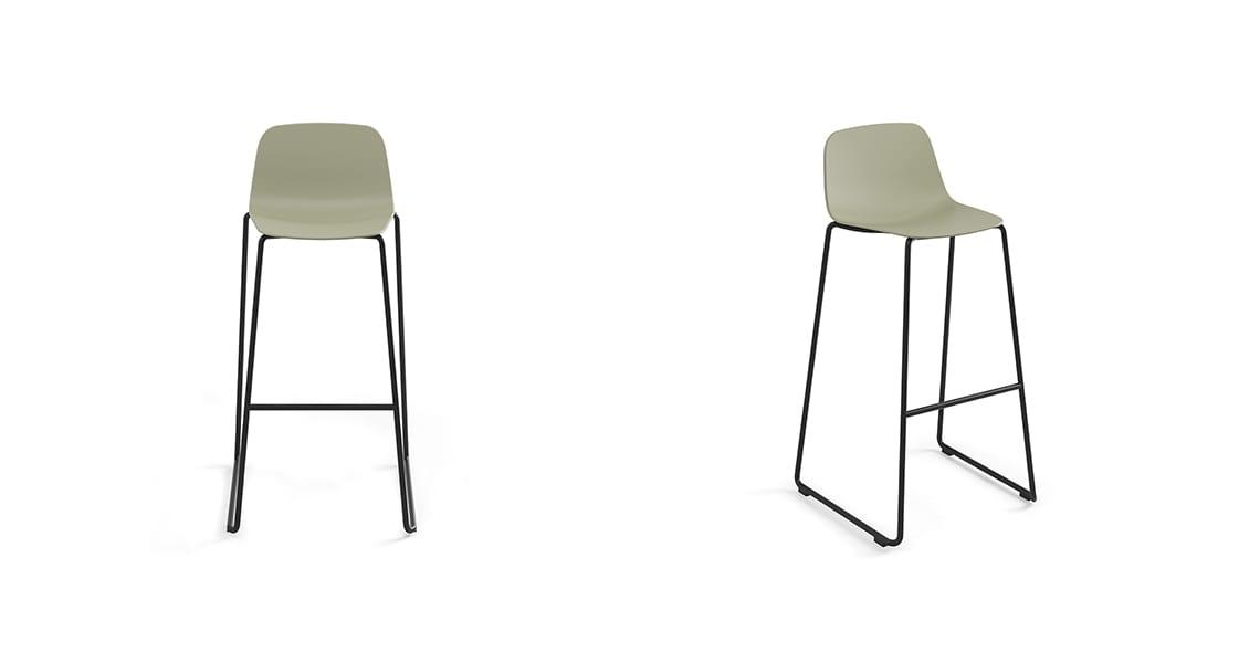 Maarten Plastic Outdoor stool