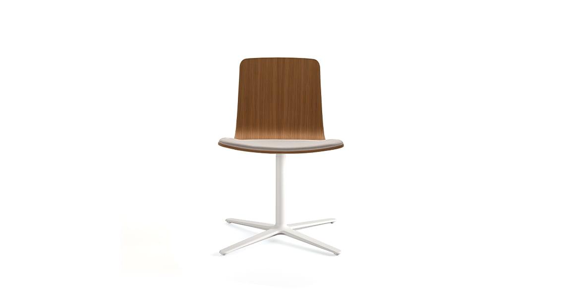 Klip chair flat swivel base