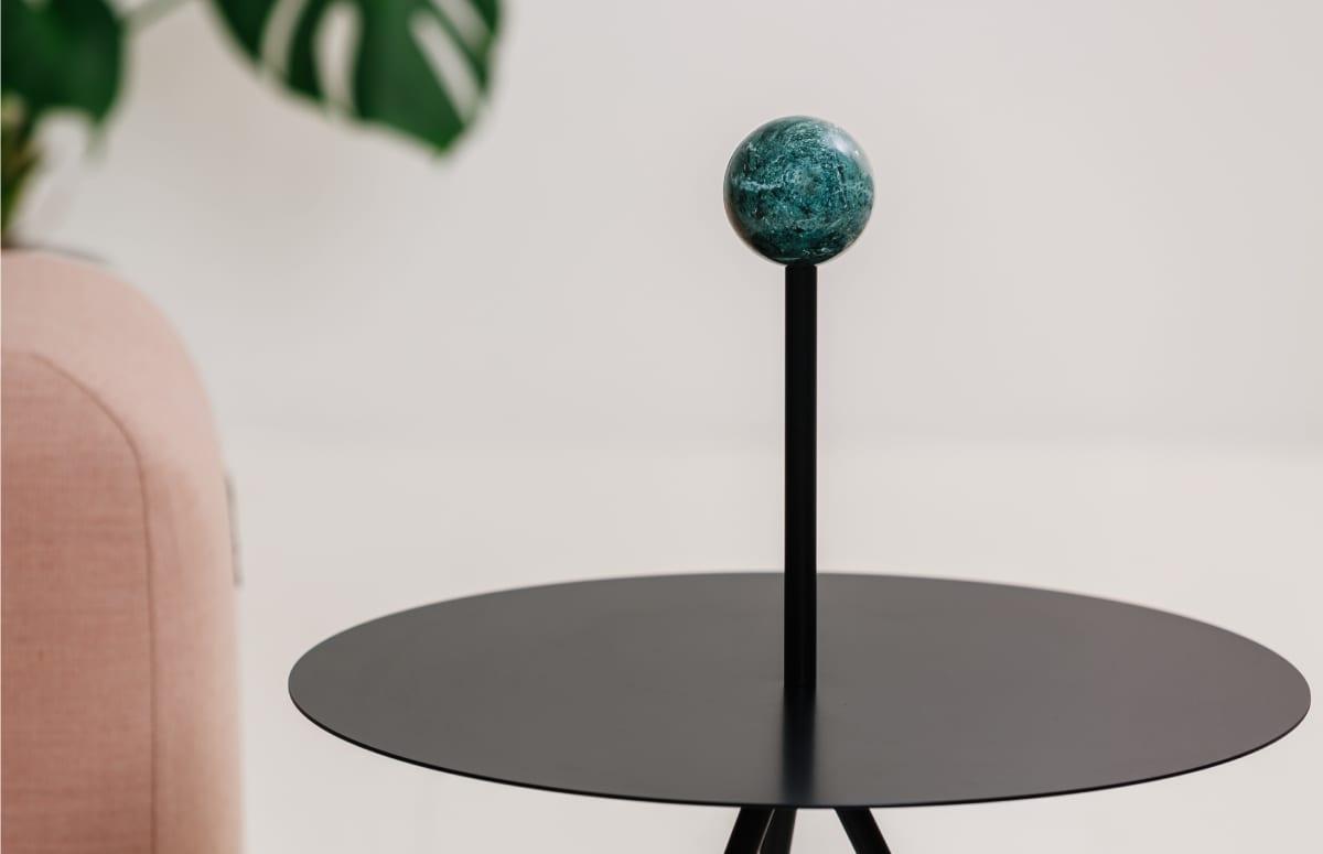 trino table side table elisa ossino salvatori marble viccarbe