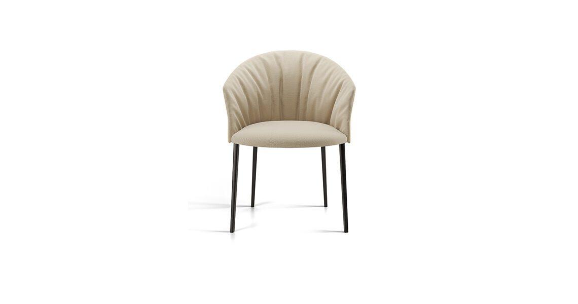 Copa Soft Chair, Four Legs Wooden Base