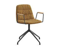Maarten chair pyramid base sof finish, Remix 433