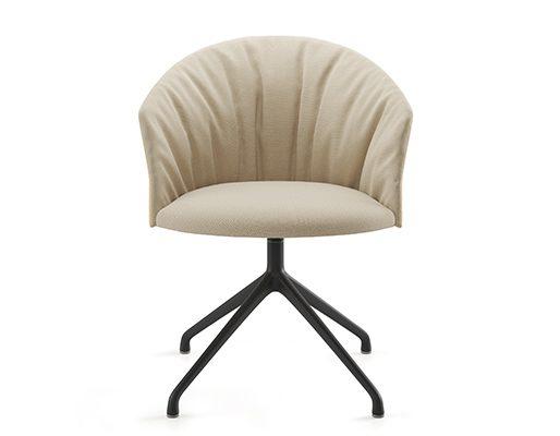 Copa Soft Chair, Pyramid Swivel Base