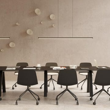 Which table is the most suitable for my collaborative office?