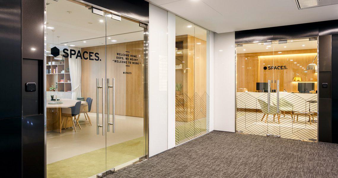 Spaces Coworking Triple One – Singapur